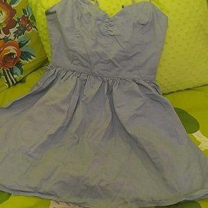 American apparel dress blue dress small